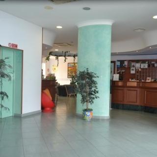 Hall dell'Hotel Yacht Marina