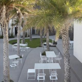 Giardino interno Sikelia Luxury Hotel