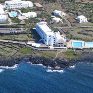 Panoramica aerea dell'Hotel Mursia